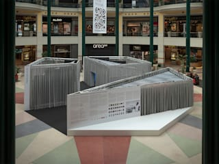 Planos de Fuga Centros de exposições minimalistas por KWY.studio Minimalista