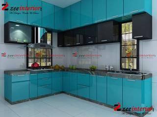 Modular kitchen designs by Zee interior Modern