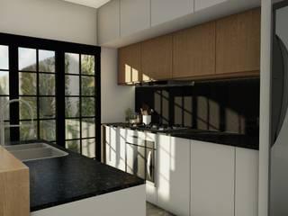 Proyecto Vivienda R & L • Cocinas modernas: Ideas, imágenes y decoración de Crea Interiorismo y Arquitectura Moderno