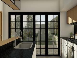 Proyecto Vivienda R & L • de Crea Interiorismo y Arquitectura Moderno