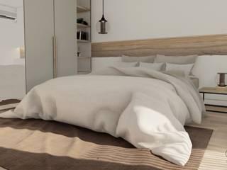 Proyecto Vivienda R & L • Crea Interiorismo y Arquitectura Dormitorios pequeños