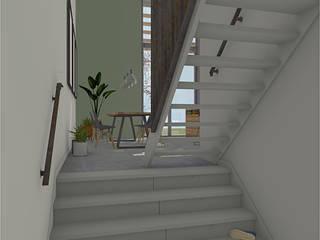Splitlevel interieur Kijkduin van Bergblick interieurarchitectuur Modern