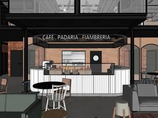 Hub de Inovação - Verso Estúdio Dozi Espaços gastronômicos industriais