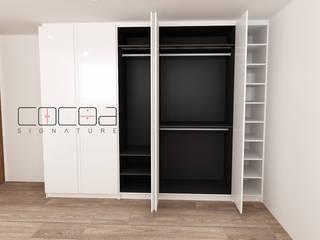 Closets Oruro 3X, Lindavista, CDMX de COCOA Minimalista