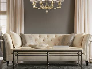 TIVOLI collection of brass lighting Salas de estar modernas por Luxury Chandelier Moderno