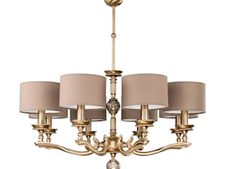 TIVOLI collection of brass lighting Luxury Chandelier Dining roomLighting Copper/Bronze/Brass Amber/Gold