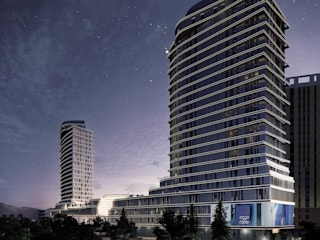 Mongflow - Mixed Use Developemt in Mongolia by TheeAe Architects Modern