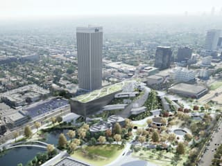 LACMA - LA County of Museum of Art Modern museums by TheeAe Architects Modern