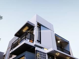 Rancang Reka Ruang Single family home Concrete White