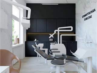 Klinika stomatologiczna w Starachowicach od DNA architekci Dominika Skałuba Nowoczesny
