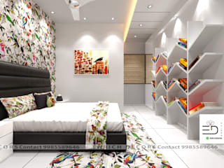 3BHK Interior Design Project by Enrich Interiors & Decors Modern