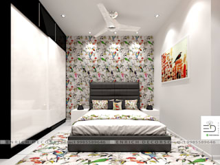 Modern style bedroom by Enrich Interiors & Decors Modern
