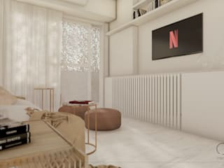 Proyecto Vivienda A • Crea Interiorismo y Arquitectura Salones escandinavos
