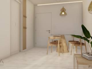Proyecto Vivienda A • Comedores escandinavos de Crea Interiorismo y Arquitectura Escandinavo