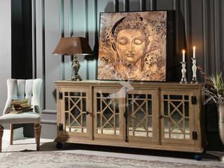 İMHOTEP COUNTRY FURNİTURE Proje Tasarım&Aydınlatma Dining roomDressers & sideboards Solid Wood Wood effect