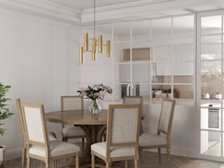 Modern dining room by Estudio BAC Modern