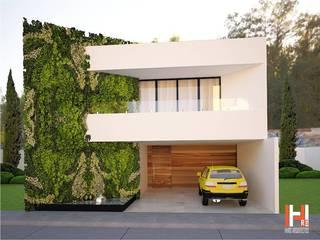 QUINTAS MIGUEL GERONIMO Casas modernas de HHRG ARQUITECTOS Moderno