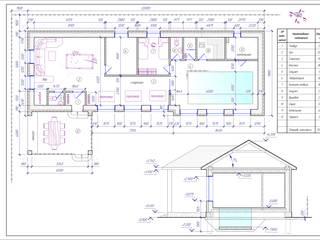 Оздоровительный комплекс с бассейном от Архитектор - проектировщик