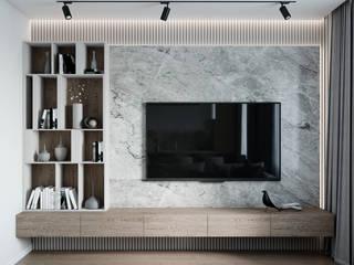 Мария Ничипоренко Minimalist living room