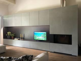 Cemento Non Cemento Living roomStorage Beton Grey