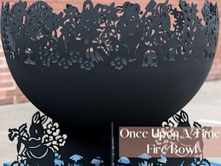 Once Upon a Time Fire Bowl Logi Engineering Limited Garden Fire pits & barbecues Iron/Steel Black