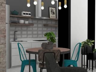 Apartamento Villa Verde - Itagüi Comedores de estilo industrial de Decó ambientes a la medida Industrial