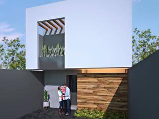 CASA BRASIL Casas minimalistas de ARQUITECTOS AJ Minimalista