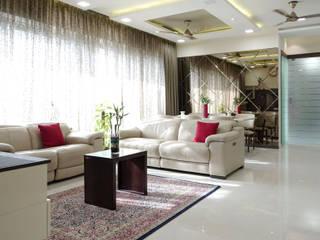 Tirumala Habitats HomeLane.com Modern living room