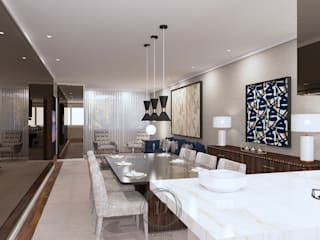 Donna - Exclusividade e Design Comedores de estilo moderno Madera Beige
