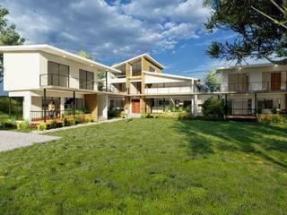 Casa Campestre en Ginebra, Valle del Cauca de DeCasas.co Moderno