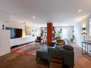 Aangenaam Interieuradvies Salas de estilo moderno