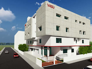 Hospital Project at Bidar by Cfolios Design And Construction Solutions Pvt Ltd