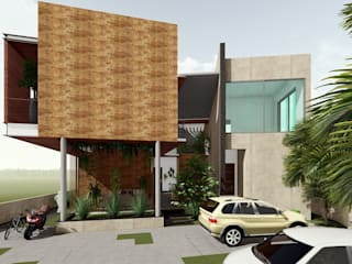 Home-Stay Project @ Wayanad, Kerala by Cfolios Design And Construction Solutions Pvt Ltd