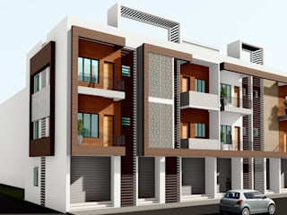 Residential Apartments at Chitguppa, Bidar by Cfolios Design And Construction Solutions Pvt Ltd