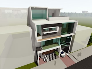 Commercial cum Residential Project at Vijayapura by Cfolios Design And Construction Solutions Pvt Ltd