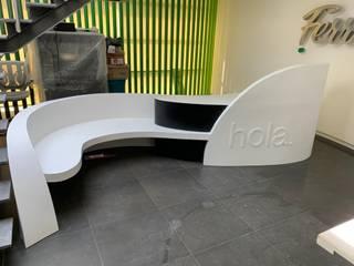 Mueble de Recepción de Hanex México Moderno