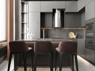 GM-interior Industrial style kitchen