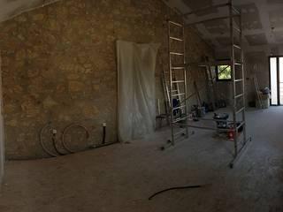 Rénovation d'une grange en appartement par ILLU DESIGN ARCHITECTURE
