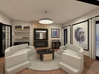 Rénovation et agencement d'un salon par ILLU DESIGN ARCHITECTURE