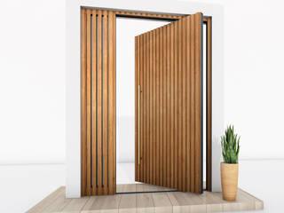 RK Pivot Doors / RK Pivot Haustür RK Exclusive Doors Puertas de madera Aluminio/Cinc Acabado en madera