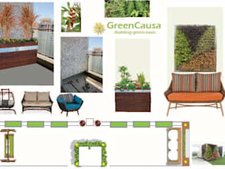 Online green space designing/makeover solution. by GreenCausa