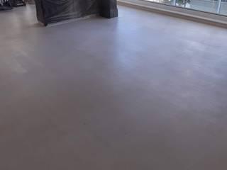 Restauração de piso Limestone crema moca. SUPERCLEAN POLIMENTOS DE MÁRMORES GRANITOS
