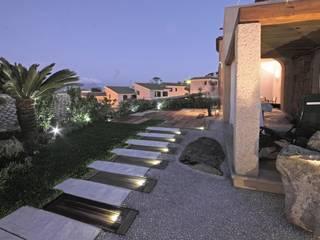 Taman Gaya Mediteran Oleh Architetto Alessandro spano Mediteran