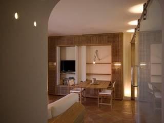 Ruang Keluarga Gaya Mediteran Oleh Architetto Alessandro spano Mediteran