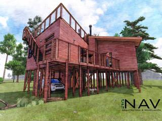 por Nave + Arquitectura & Modelación Paramétrica Rústico