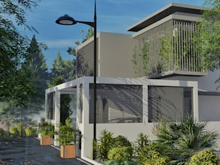 Residence for Dr Anandhu by ARCHIDUEX-THE DESIGN STUDIO Minimalist