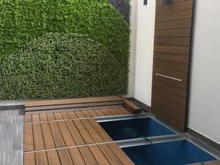 Alberca en verano , terraza en invierno de Tek Products Monterrey Moderno
