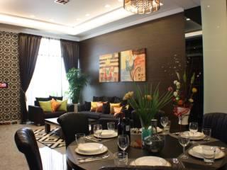 Comedores de estilo clásico de 台中室內建築師|利程室內外裝飾 LICHENG Clásico