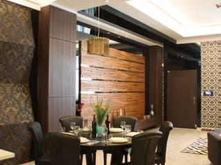台中室內建築師|利程室內外裝飾 LICHENG Comedores de estilo clásico