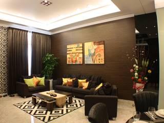 國程實品屋 台中室內建築師|利程室內外裝飾 LICHENG 客廳